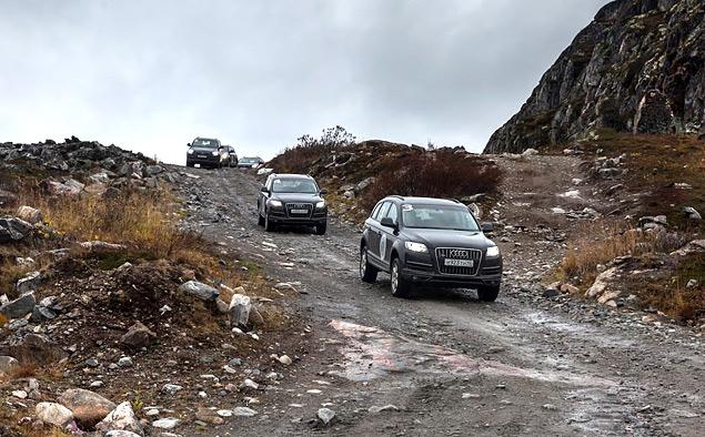 Путешествие к самой северной точке европейской части России на Audi Q7. Фото 4