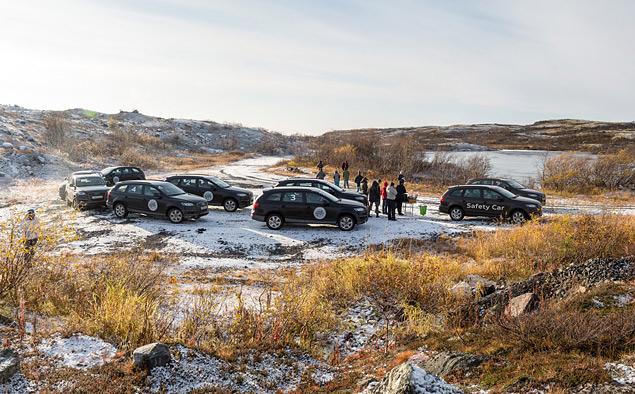 Путешествие к самой северной точке европейской части России на Audi Q7. Фото 8