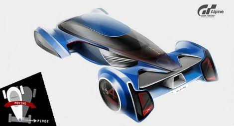 Компания Alpine разработает спорткар для гоночного симулятора