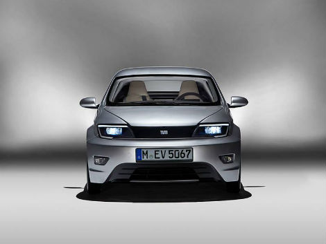 Технический университет Мюнхена представил сверхлегкий электромобиль Visio.M. Фото 2