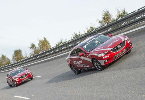 Седан Mazda6 стал быстрейшей серийной машиной с дизелем