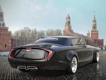 Лимузин для президента РФ оснастят мотором Porsche