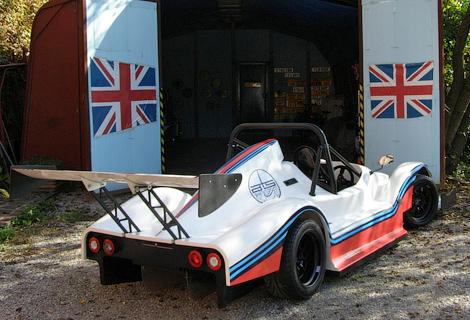Фирма ATS создала сверхлегкий спорткар с мотором от мотоцикла Suzuki