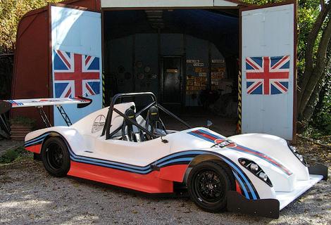 Фирма ATS создала сверхлегкий спорткар с мотором от мотоцикла Suzuki. Фото 2