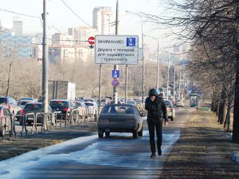 Госдума отказалась лишать прав за езду по тротуарам
