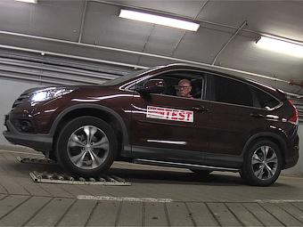 Кроссовер Honda CR-V провалил полноприводный тест
