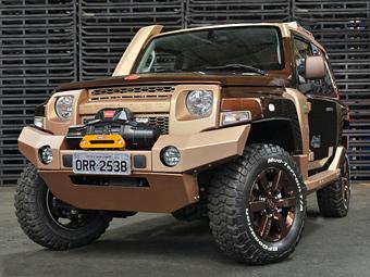 Ford добавил агрессивности бразильскому внедорожнику Troller