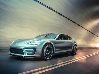 Porsche разработает конкурента Tesla Model S