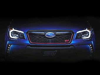 """Компания Subaru подготовила к серии """"заряженный"""" Forester"""