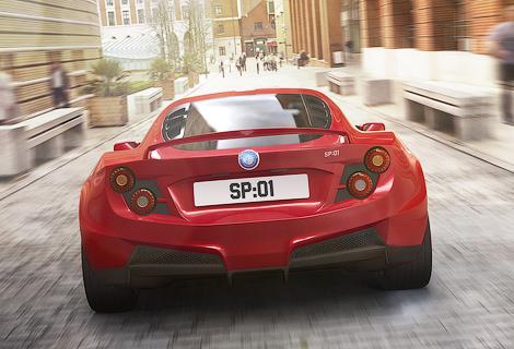 Компания показала обновленный вариант модели SP:01. Фото 1