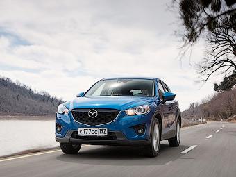 Mazda представит в ноябре мини-CX-5