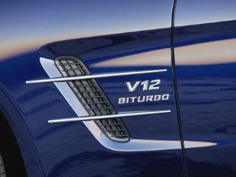 AMG сохранит мотор V12 в виде гибрида
