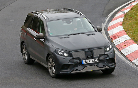 Mercedes-Benz представят в январе 2015 года гибридный вариант M-Class