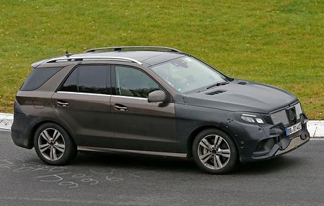 Mercedes-Benz представят в январе 2015 года гибридный вариант M-Class. Фото 2