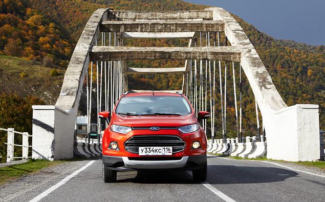 Тест-драйв Ford EcoSport, который собирается отобрать клиентов у всех компактных кроссоверов. Фото 1