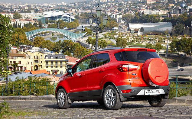 Тест-драйв Ford EcoSport, который собирается отобрать клиентов у всех компактных кроссоверов. Фото 2