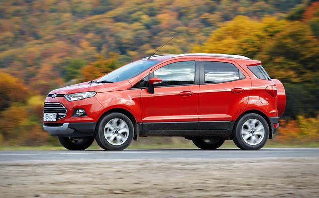 Тест-драйв Ford EcoSport, который собирается отобрать клиентов у всех компактных кроссоверов. Фото 4