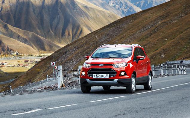 Тест-драйв Ford EcoSport, который собирается отобрать клиентов у всех компактных кроссоверов. Фото 7