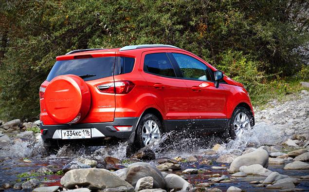Тест-драйв Ford EcoSport, который собирается отобрать клиентов у всех компактных кроссоверов. Фото 8