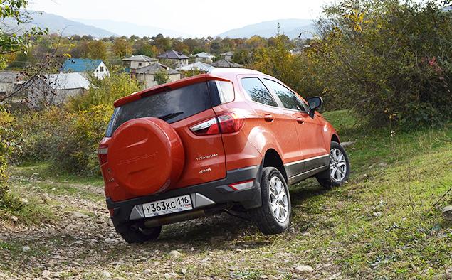 Тест-драйв Ford EcoSport, который собирается отобрать клиентов у всех компактных кроссоверов. Фото 9