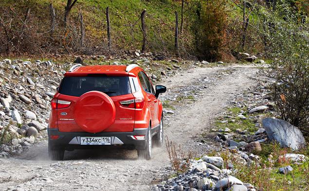 Тест-драйв Ford EcoSport, который собирается отобрать клиентов у всех компактных кроссоверов. Фото 12