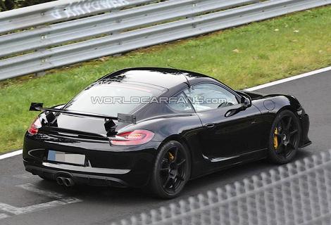 Самый экстремальный Porsche Cayman получит индекс GT4