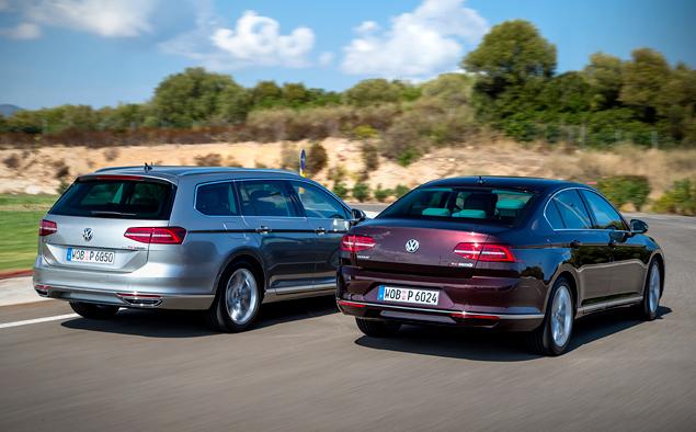 Тест-драйв нового Volkswagen Passat, который подобрался к идеалу на расстояние атаки. Фото 9