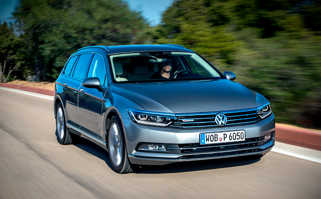 Тест-драйв нового Volkswagen Passat, который подобрался к идеалу на расстояние атаки. Фото 13