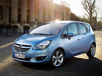 Opel превратит «Мериву» и «Зафиру» в кроссоверы