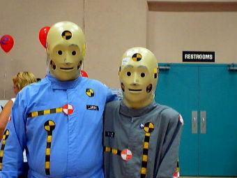 В США разработают «толстые» манекены для краш-тестов