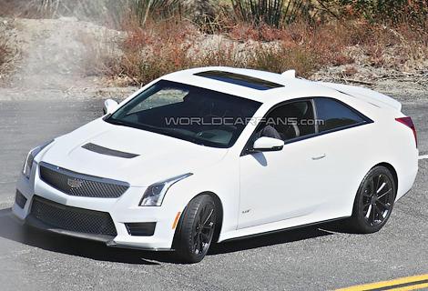 Купе Cadillac ATS-V оснастят твин-турбо мотором V6