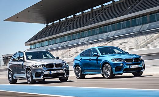 Компания BMW представила M-версии новых X5 и X6