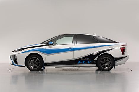 Toyota FCV выйдет на Ралли Синсиро в качестве «нулевого» экипажа