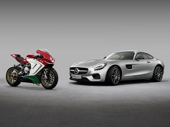 Ателье AMG стало совладельцем производителя спортбайков MV Agusta