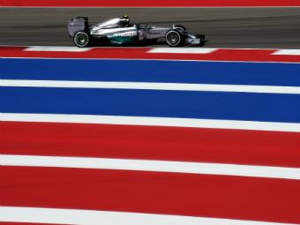 Нико Росберг выиграл квалификацию Гран-при США