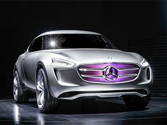 Китайский офис Mercedes-Benz создал прототип вседорожного купе