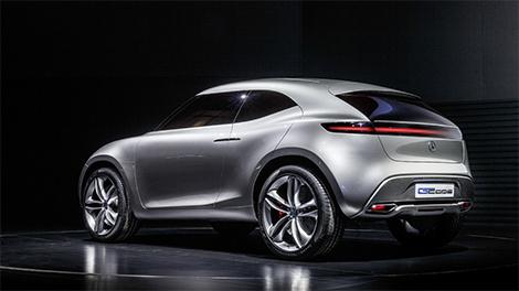 Компания Mercedes-Benz представила концепт-кар G-Code