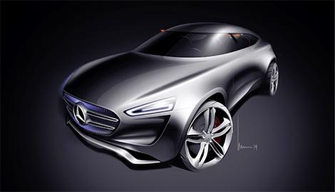 Компания Mercedes-Benz представила концепт-кар G-Code. Фото 1