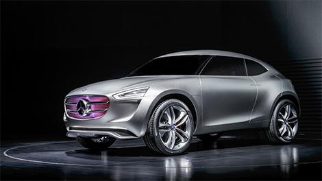 Компания Mercedes-Benz представила концепт-кар G-Code. Фото 2
