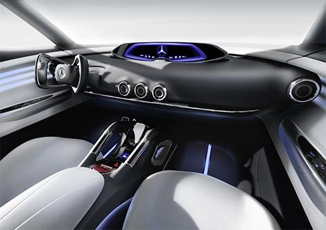 Компания Mercedes-Benz представила концепт-кар G-Code. Фото 3