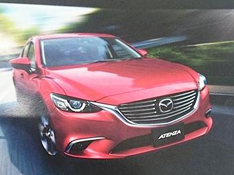 Рестайлинговую Mazda6 рассекретили в Сети