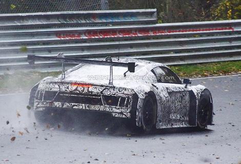 Немецкая компания начала тесты новой машины для гонок на выносливость