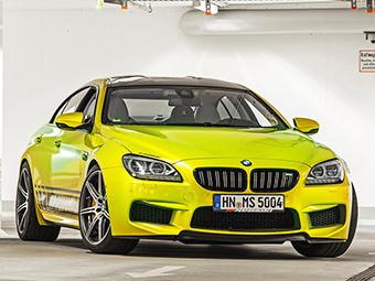 Четырехдверка BMW M6 стала в полтора раза мощнее