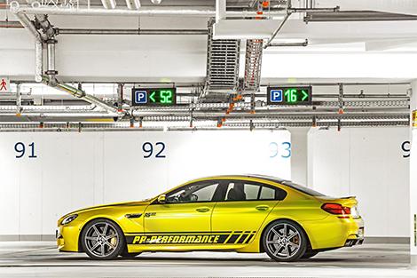 Компания PP Performance подготовила тюнинг-пакет для BMW M6 Gran Coupe. Фото 1