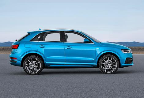 """Заряженный"" кроссовер Audi RS Q3 стал на 30 сил мощнее. Фото 1"