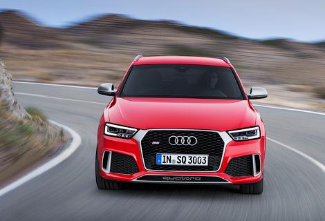 """Заряженный"" кроссовер Audi RS Q3 стал на 30 сил мощнее. Фото 2"
