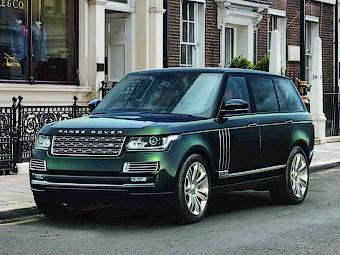 Британские оружейники помогли создать самый дорогой Range Rover