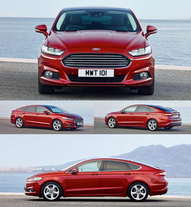 Тест нового Ford Mondeo в версиях, которых у нас не будет. Фото 1