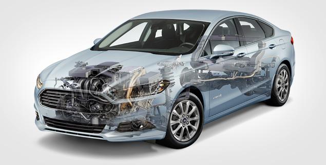 Тест нового Ford Mondeo в версиях, которых у нас не будет. Фото 3
