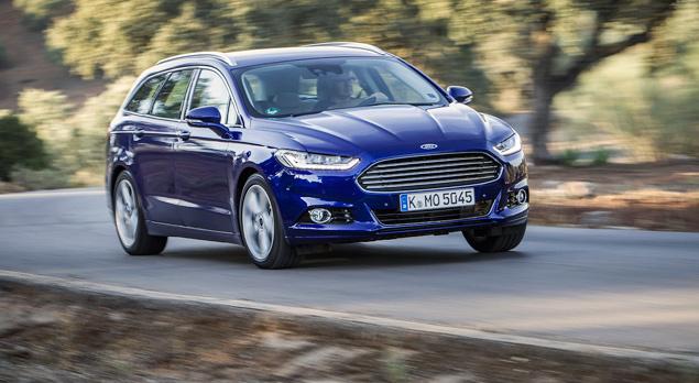 Тест нового Ford Mondeo в версиях, которых у нас не будет. Фото 8